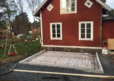 Grund tillbyggnad Norrälje