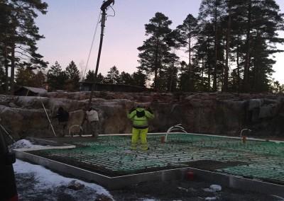 Grundgjutning Åkersberga